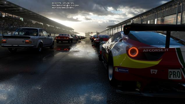 Xbox One Scorpio Forza 6 tech demo