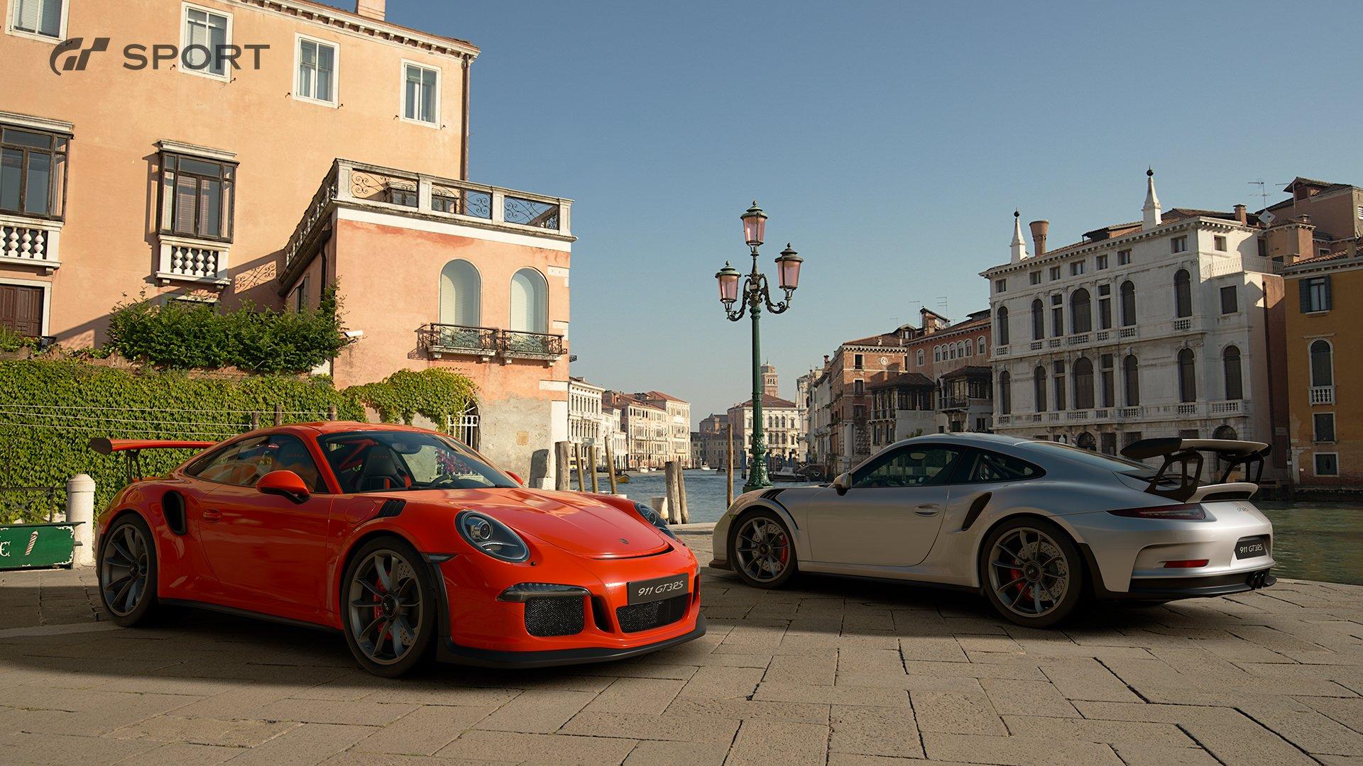 Gran Turismo Sport Porsche 991 911 GT3 RS exterior 1