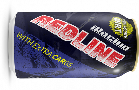 iRacing Redline energy drink
