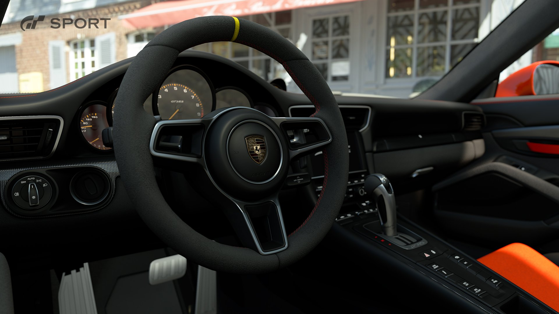 Gran Turismo Sport Porsche 991 911 GT3 RS interior 2