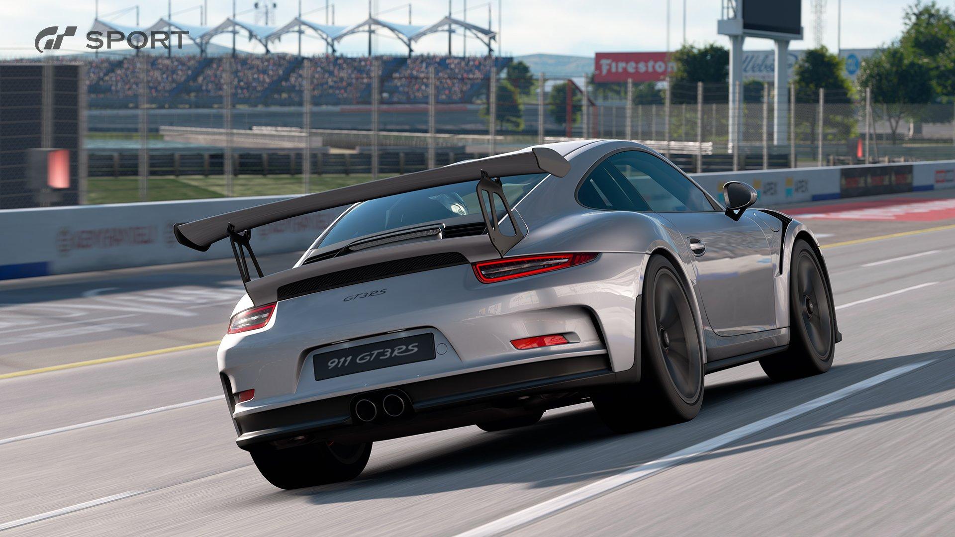 Gran Turismo Sport Porsche 991 911 GT3 RS race 2