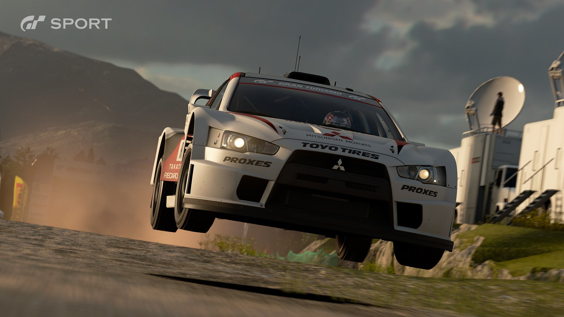 Gran Turismo Sport Mitsubishi Lancer Evolution Final Edition Gr B rally car race 1