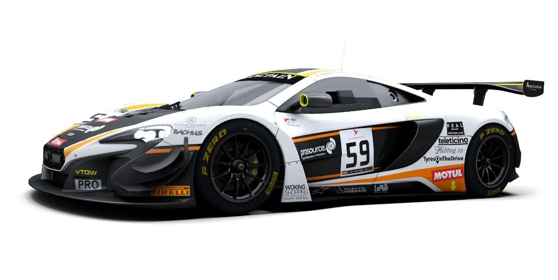 raceroom – mclaren 650s gt3 and patch released - inside sim racing