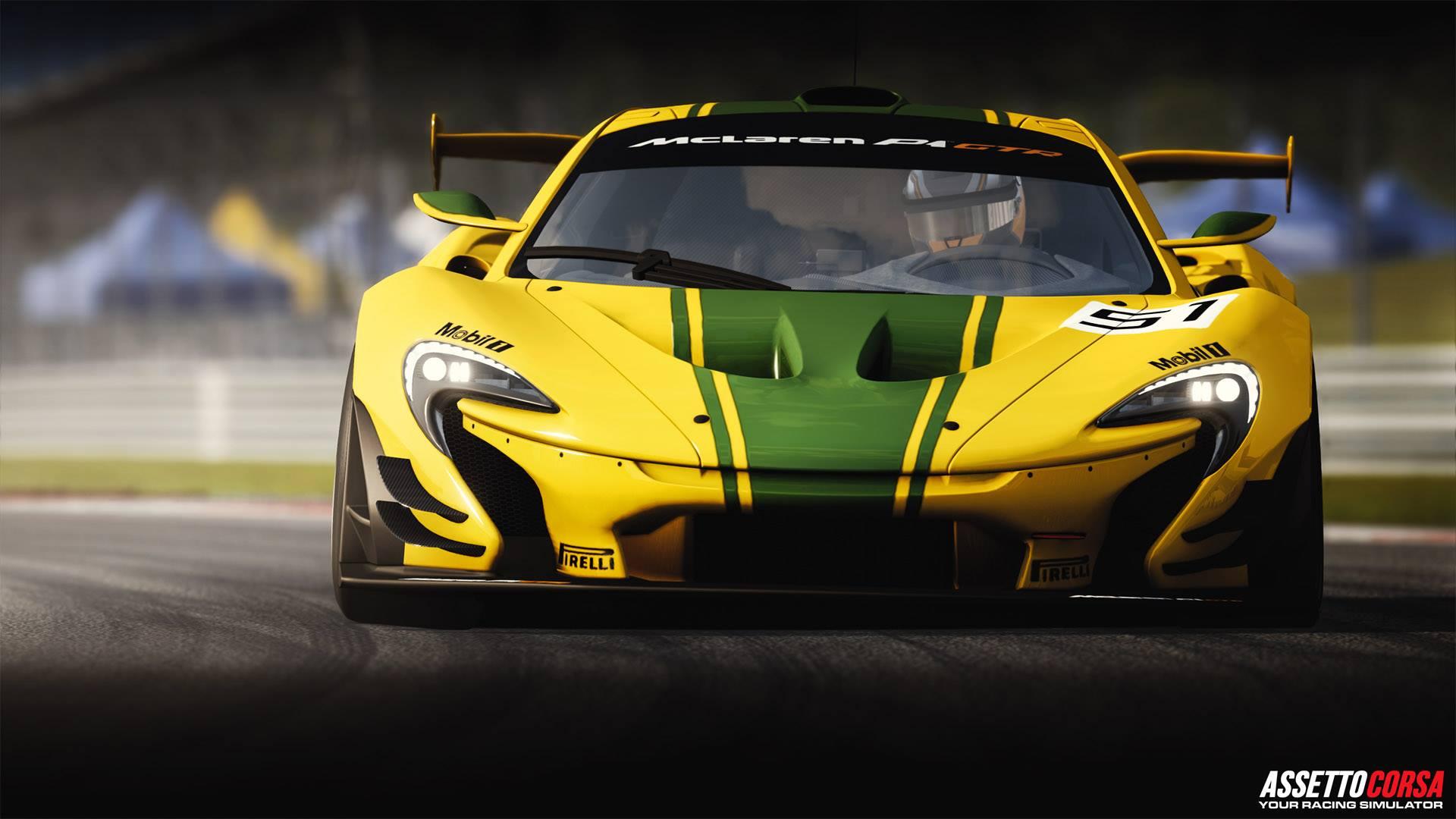Assetto Corsa Ready To Race DLC McLaren P1 GTR