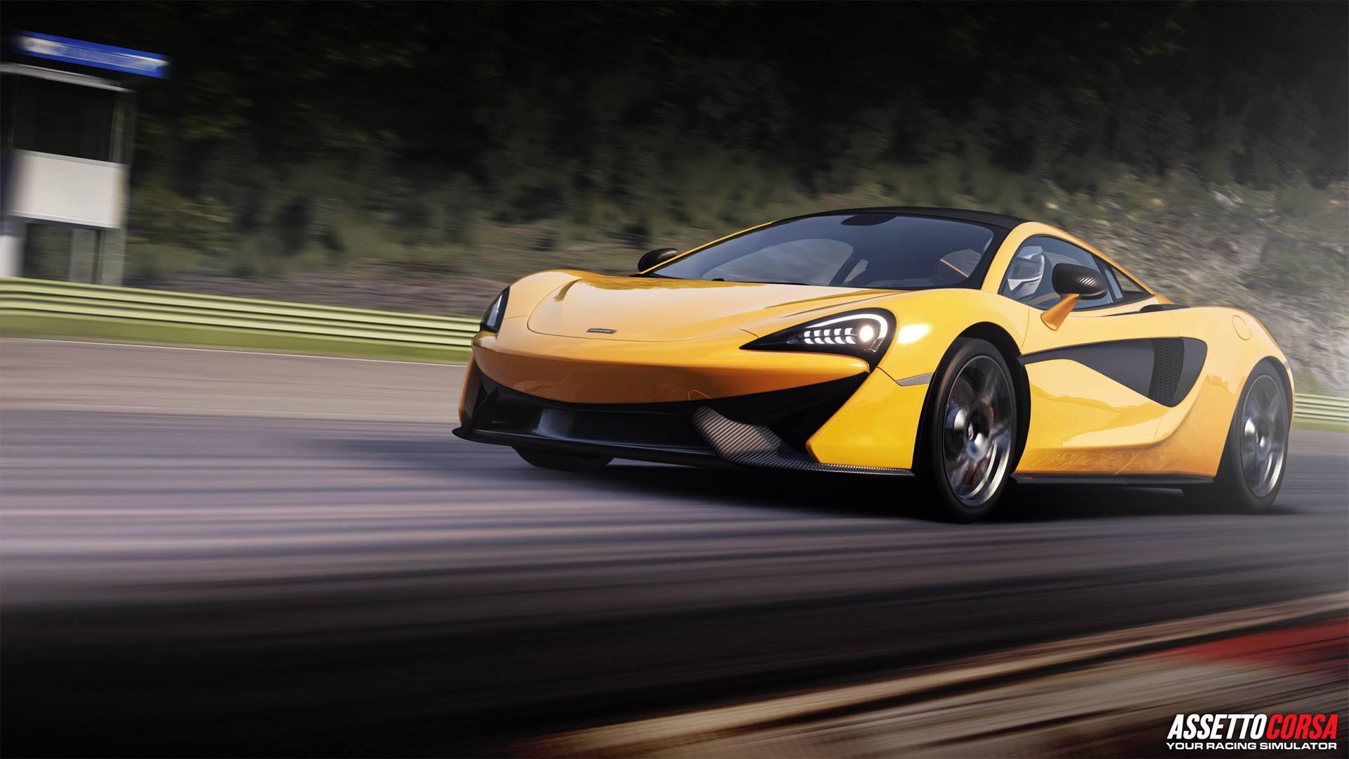 Assetto Corsa Ready To Race DLC McLaren 570S