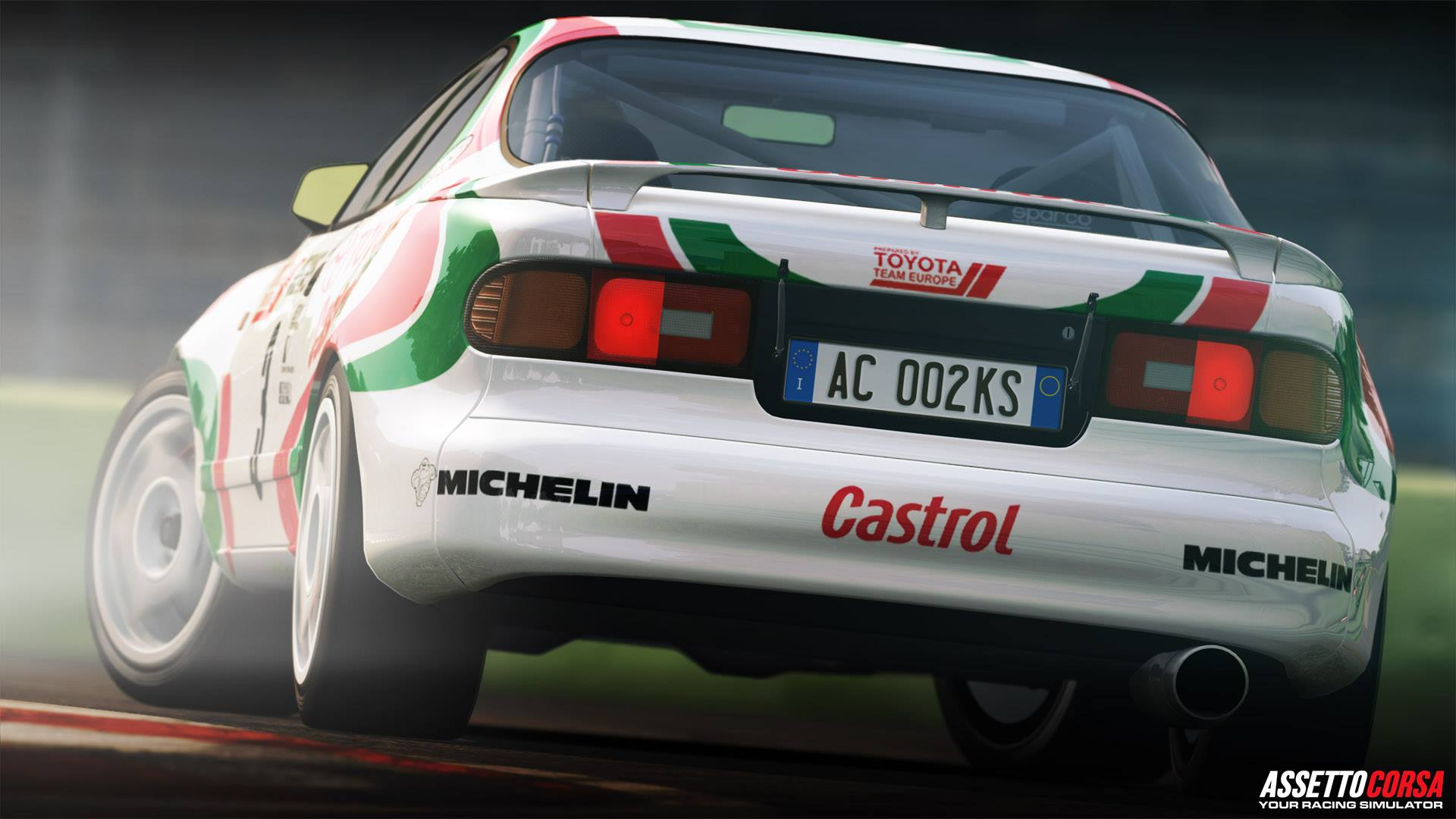 Assetto Corsa Ready To Race DLC Toyota Celica ST185 Turbo