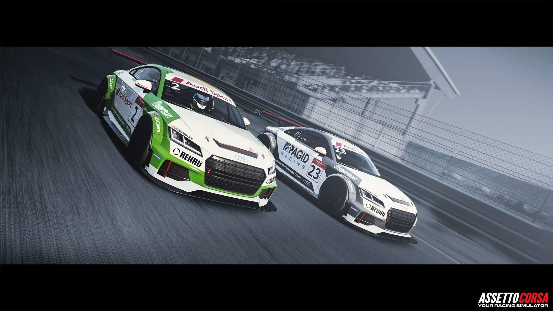 Assetto Corsa Ready To Race DLC Audi TT Cup 2016