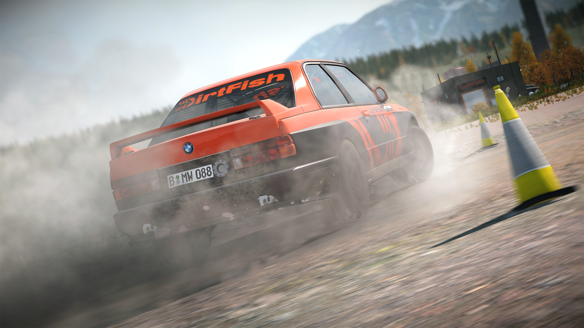 DiRT 4 DirtFish BMW E30 M3