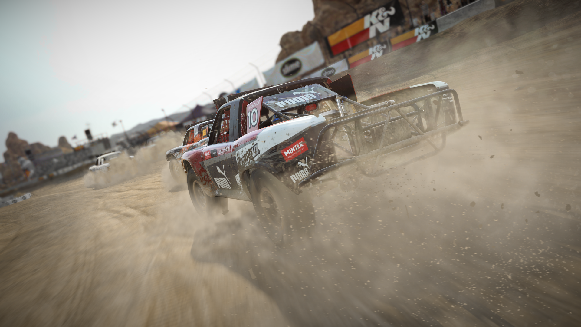 DiRT 4 Stadium Trucks ST4 California