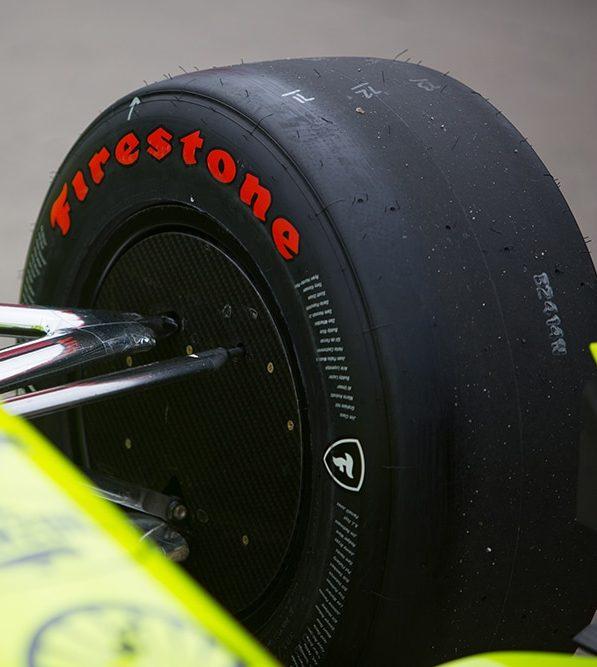 Indy 500 Firestone tyre