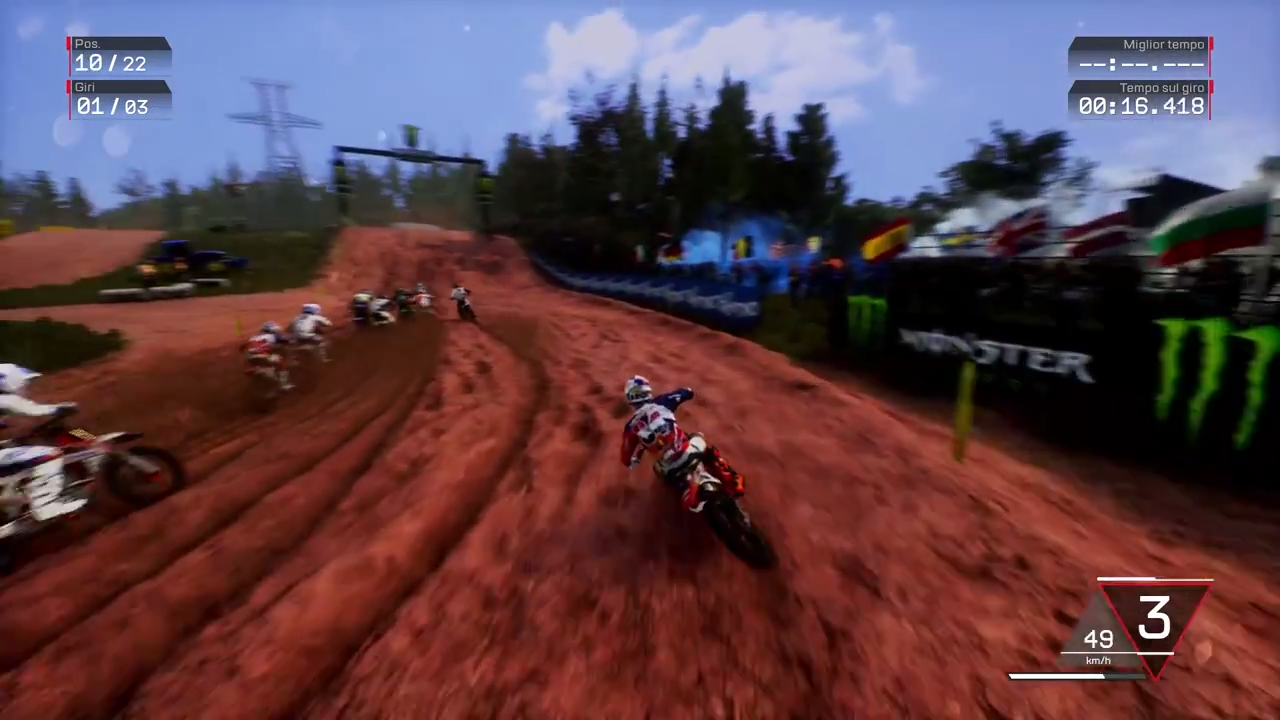 MXGP3 Gameplay Trailer Screenshot 1