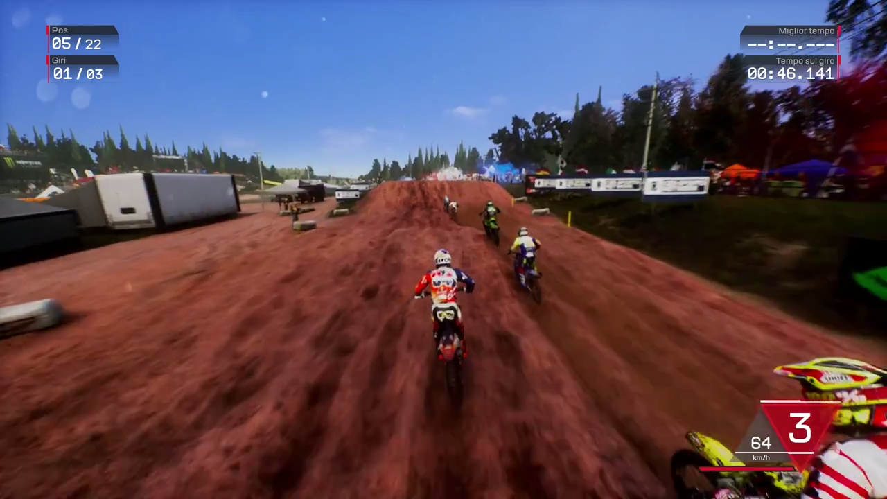 MXGP3 Gameplay Trailer Screenshot 2