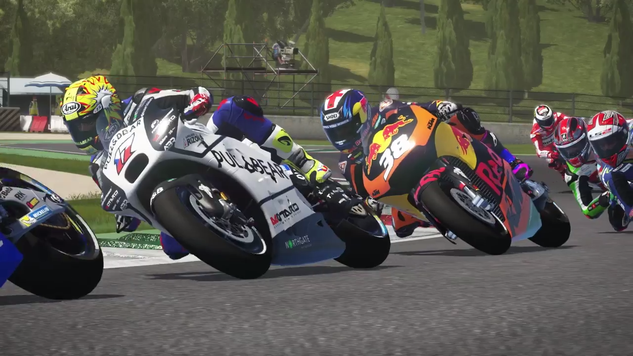 MotoGP 17 eSport Championship trailer screenshot 3