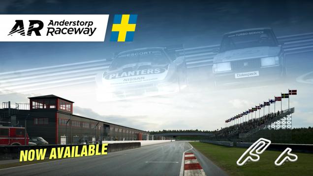 RaceRoom Anderstorp Raceway release banner