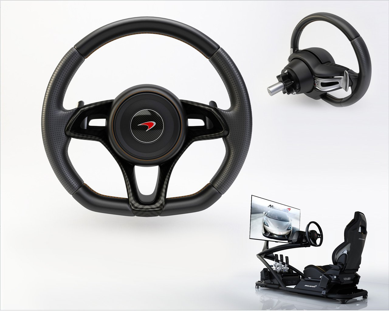 vehicle sim cool mclaren
