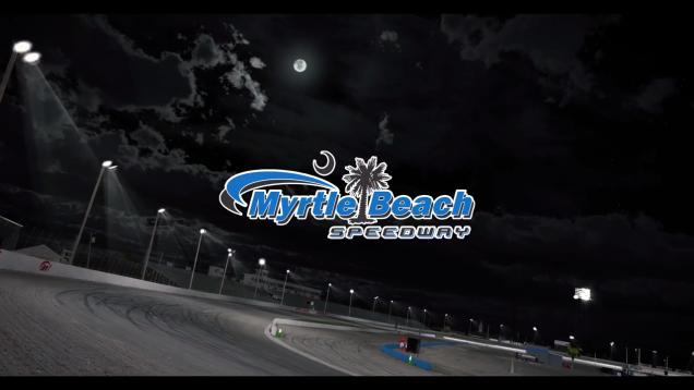 iRacing Myrthle Beach Speedway Trailer