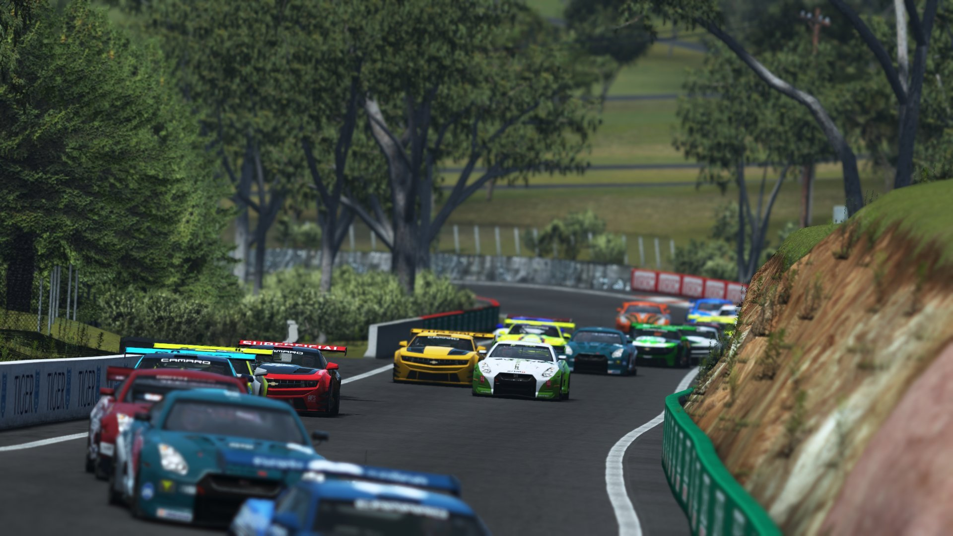rFactor 2 DX11 beta Bathurst race