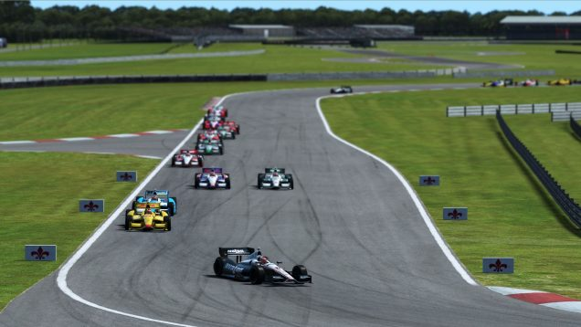 rFactor 2 DX11 beta IndyCar race