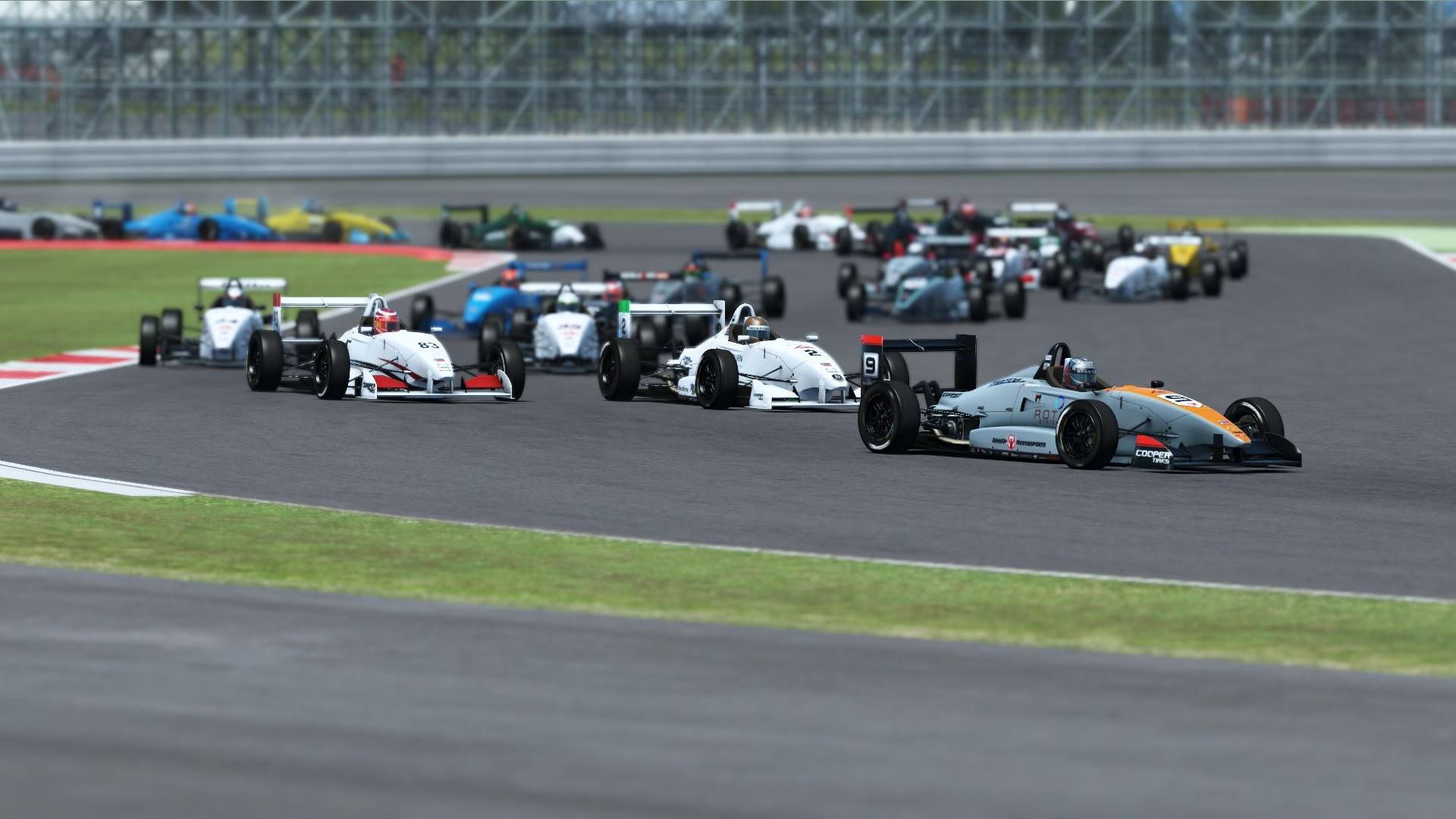 rFactor 2 DX11 beta USF2000 race