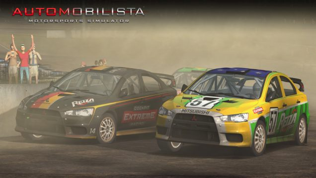 Automobilista Mitsubishi Lancer Evolution dirt
