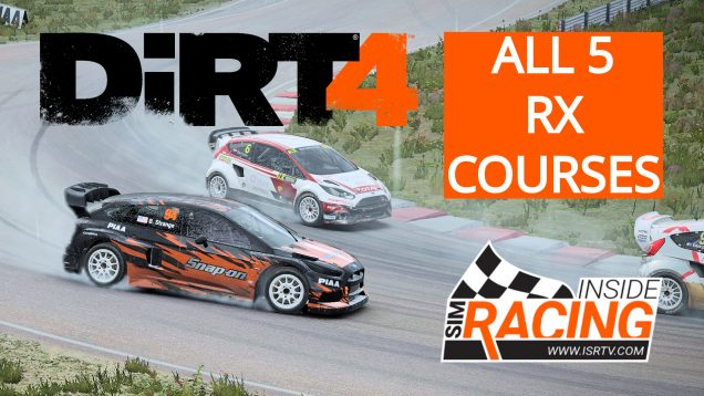 DiRT 4 PC Test Drive - We Drive All 5 Rallycross Courses