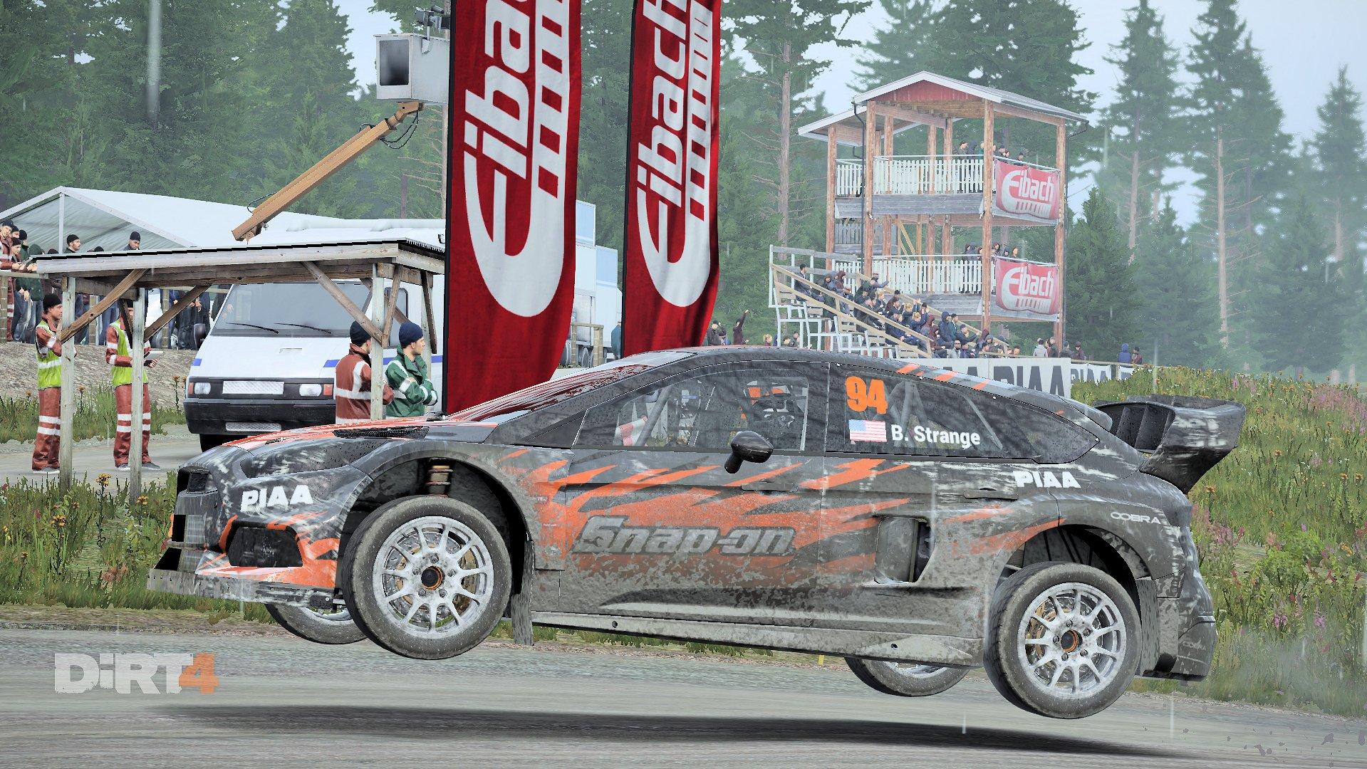 DiRT 4 Rallycross Focus RS