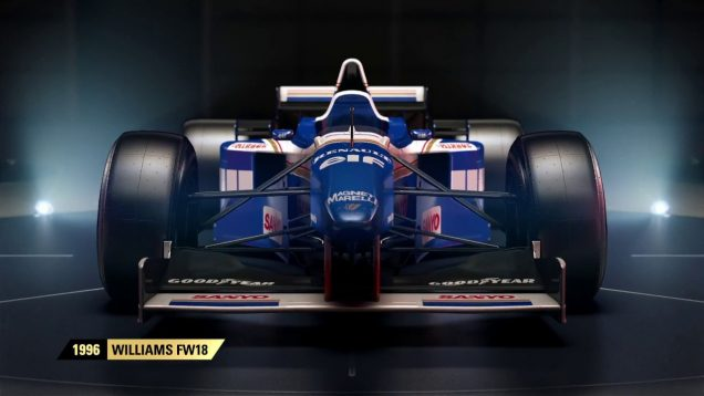 F1 2017 Williams FW18