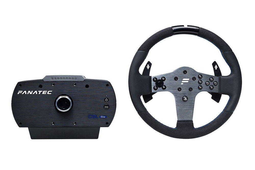 fanatec csl elite ps4 wheel now available in europe and. Black Bedroom Furniture Sets. Home Design Ideas