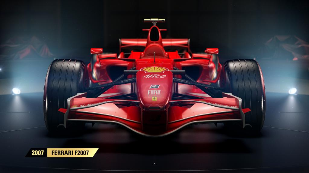 F1 2017 Ferrari F2007