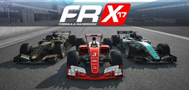 Formula RaceRoom X-17 banner