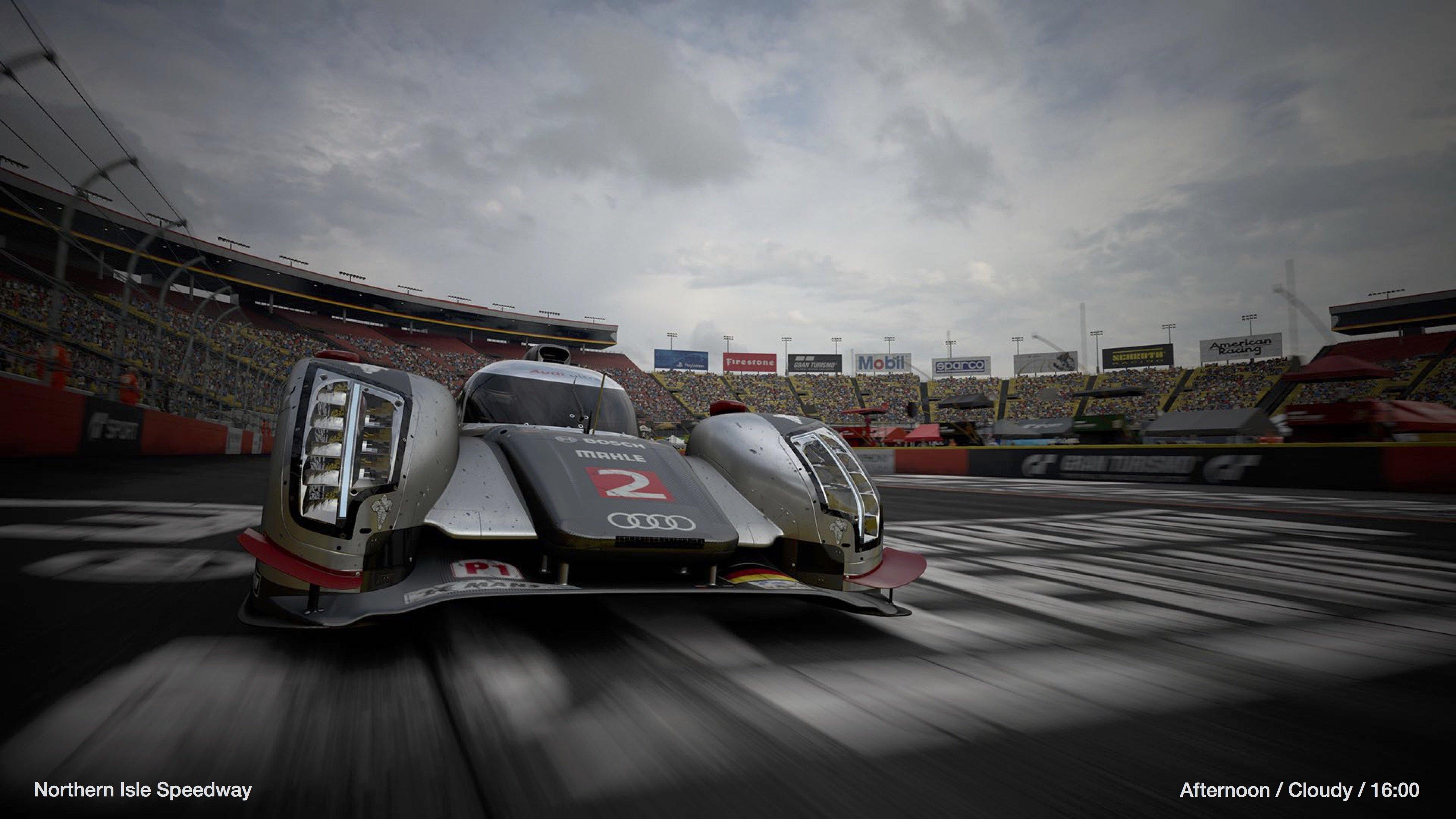 Gran Turismo Sport Audi E-TRON Northern Isle Speedway afternoon