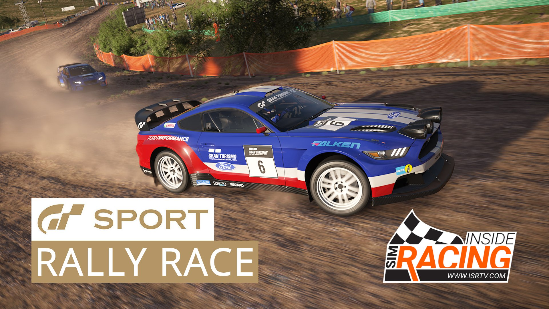 Gran Turismo Sport E3 2017 Media Race Mustang Rally At Sardegna Inside Sim Racing