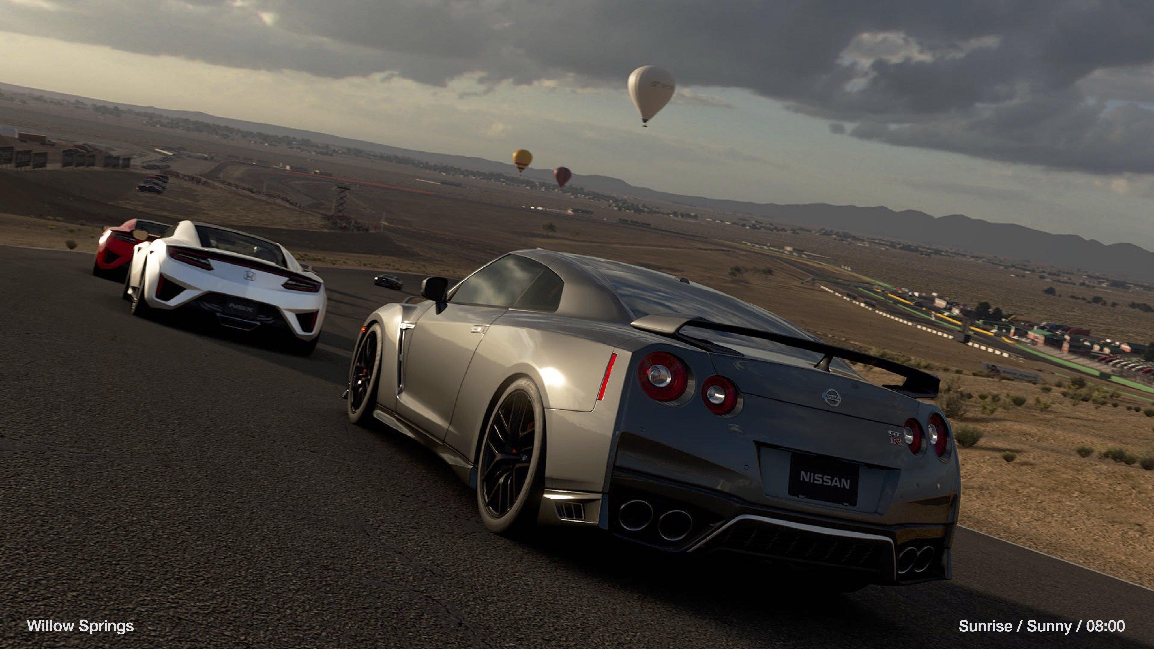 Gran Turismo Sport Nissan GTR Willow Springs