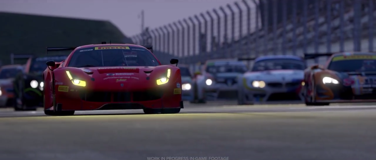 Project CARS 2 Ferrari 488 race-spec