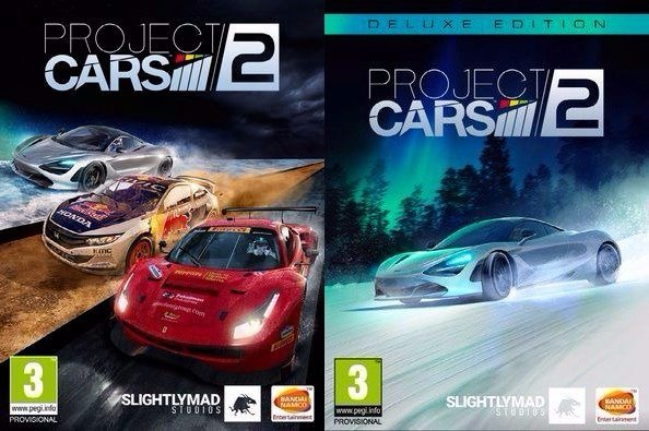 Project CARS 2 digital pre-order editions