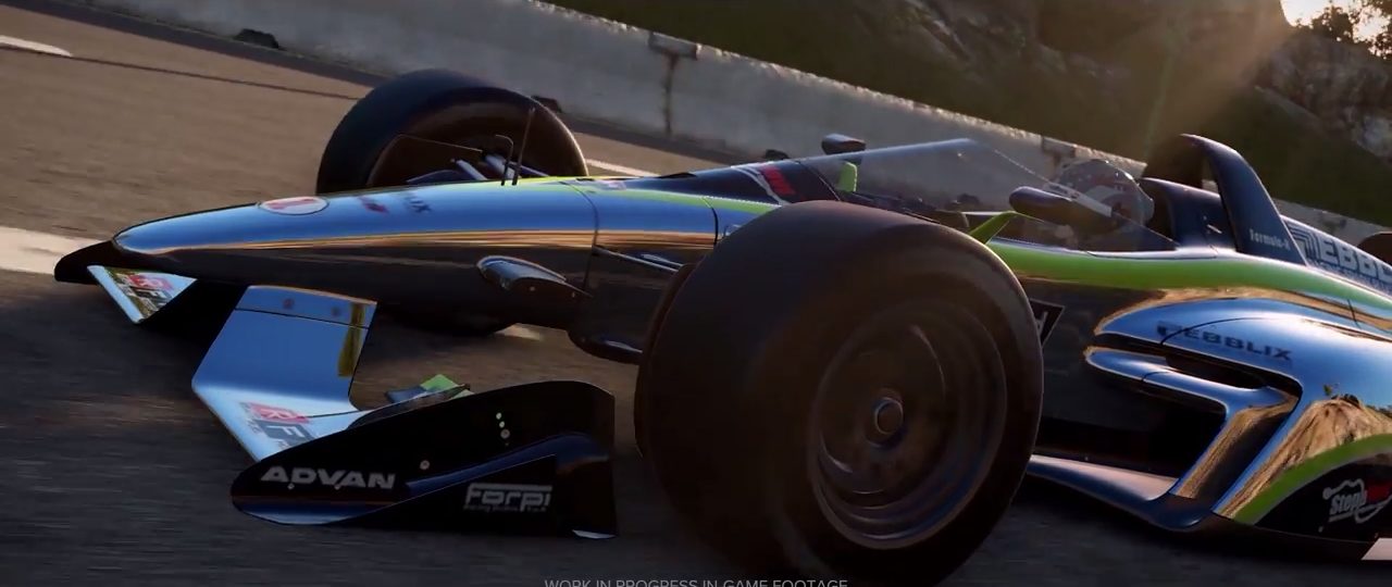 Project CARS 2 mysterious formula car