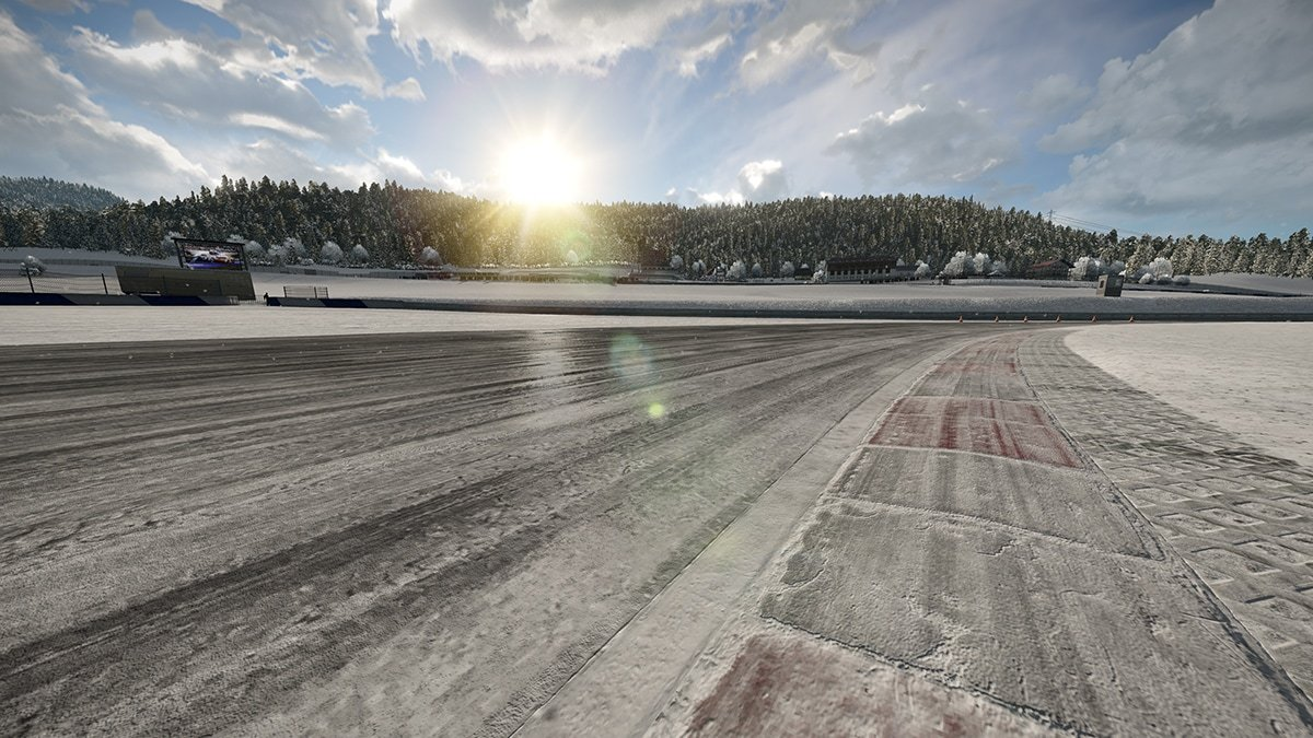 Project CARS 2 snowy track