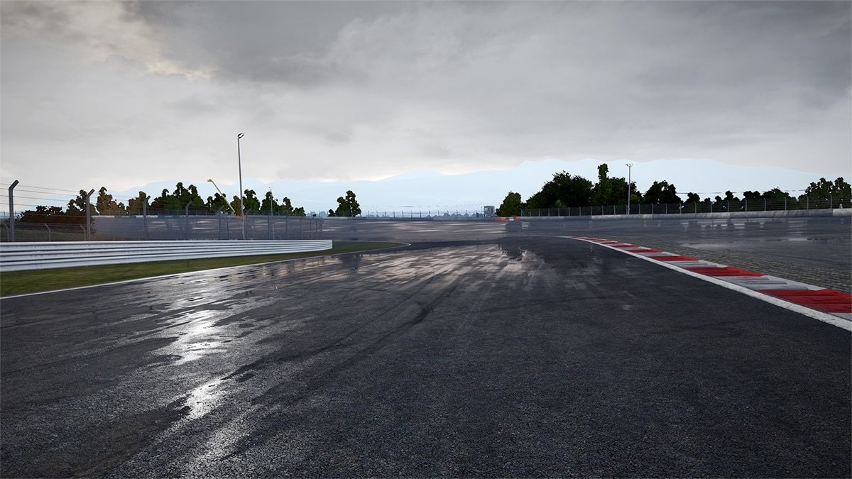 Project CARS 2 wet track