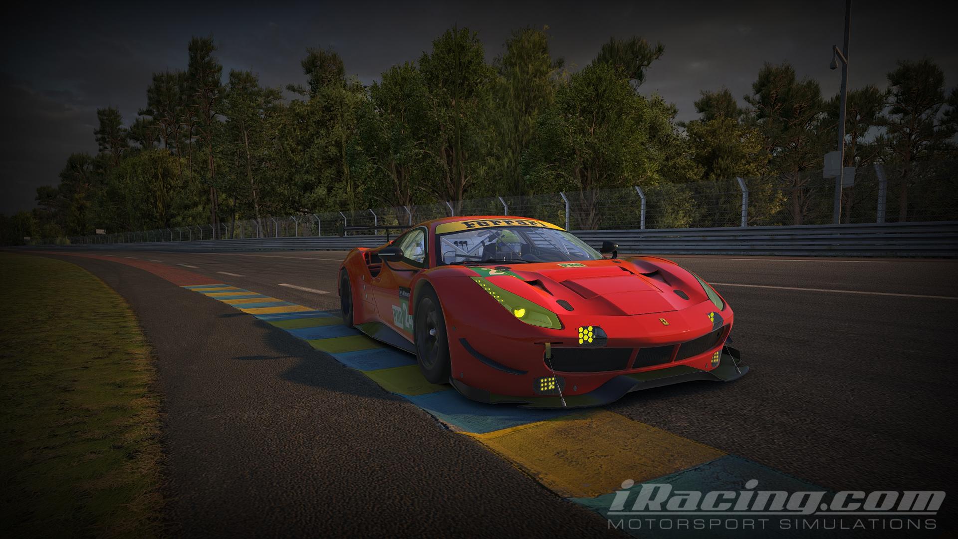 iRacing Ferrari 488 GTE 1