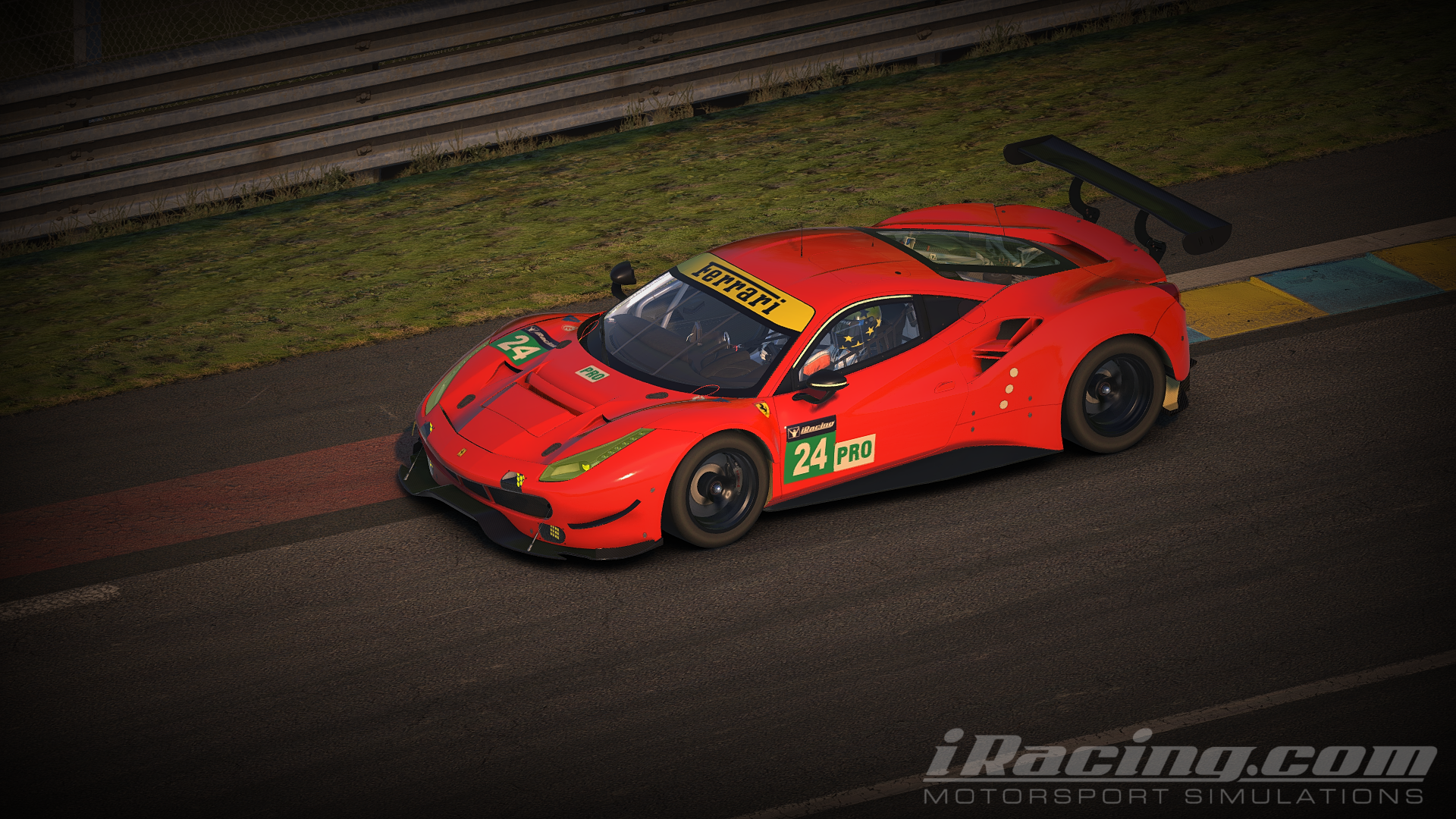 iRacing Ferrari 488 GTE 3
