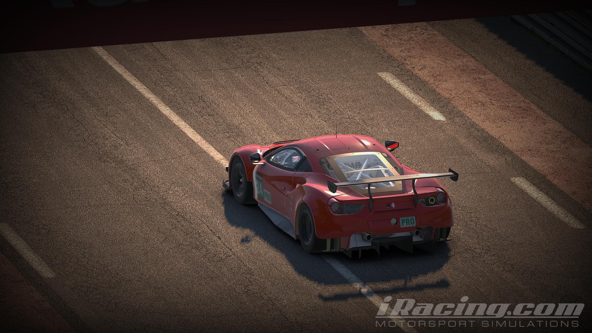 iRacing Ferrari 488 GTE 4