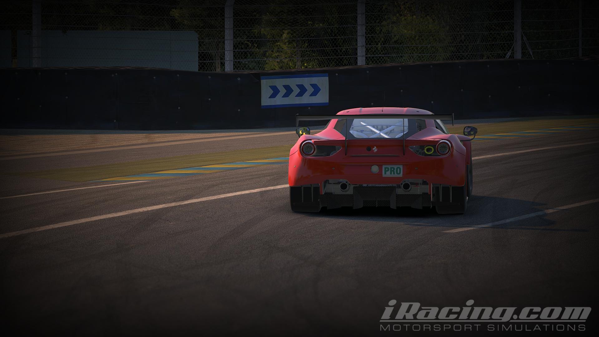 iRacing Ferrari 488 GTE 6