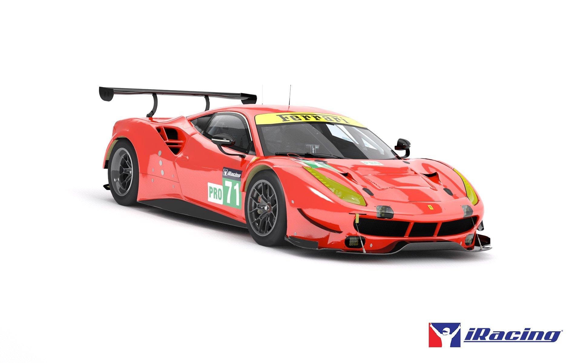 iRacing Ferrari 488 GTE Preview