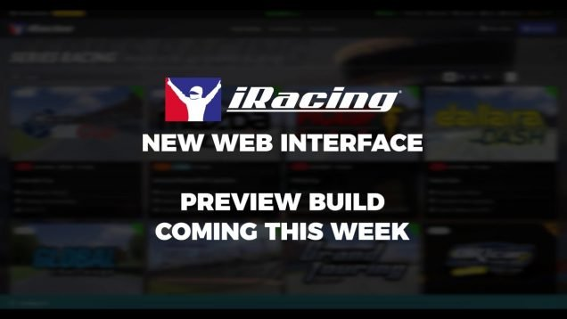 iRacing new UI and Time Attack banner