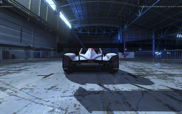 rFactor 2 Radical SR3 in showroom 1