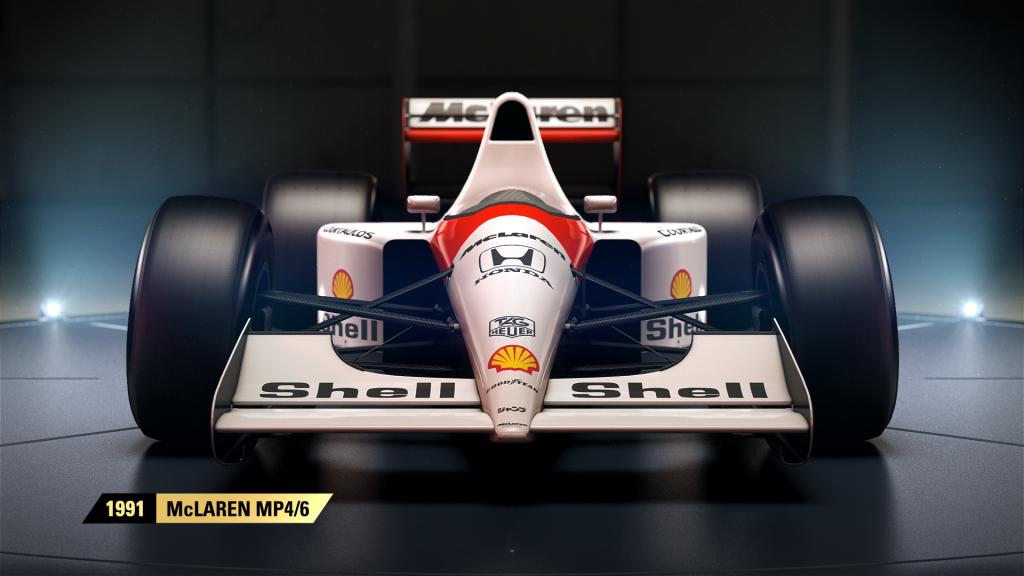 F1 2017 McLaren MP4 6