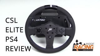 Fanatec CSL Elite PlayStation 4 PS4 Review