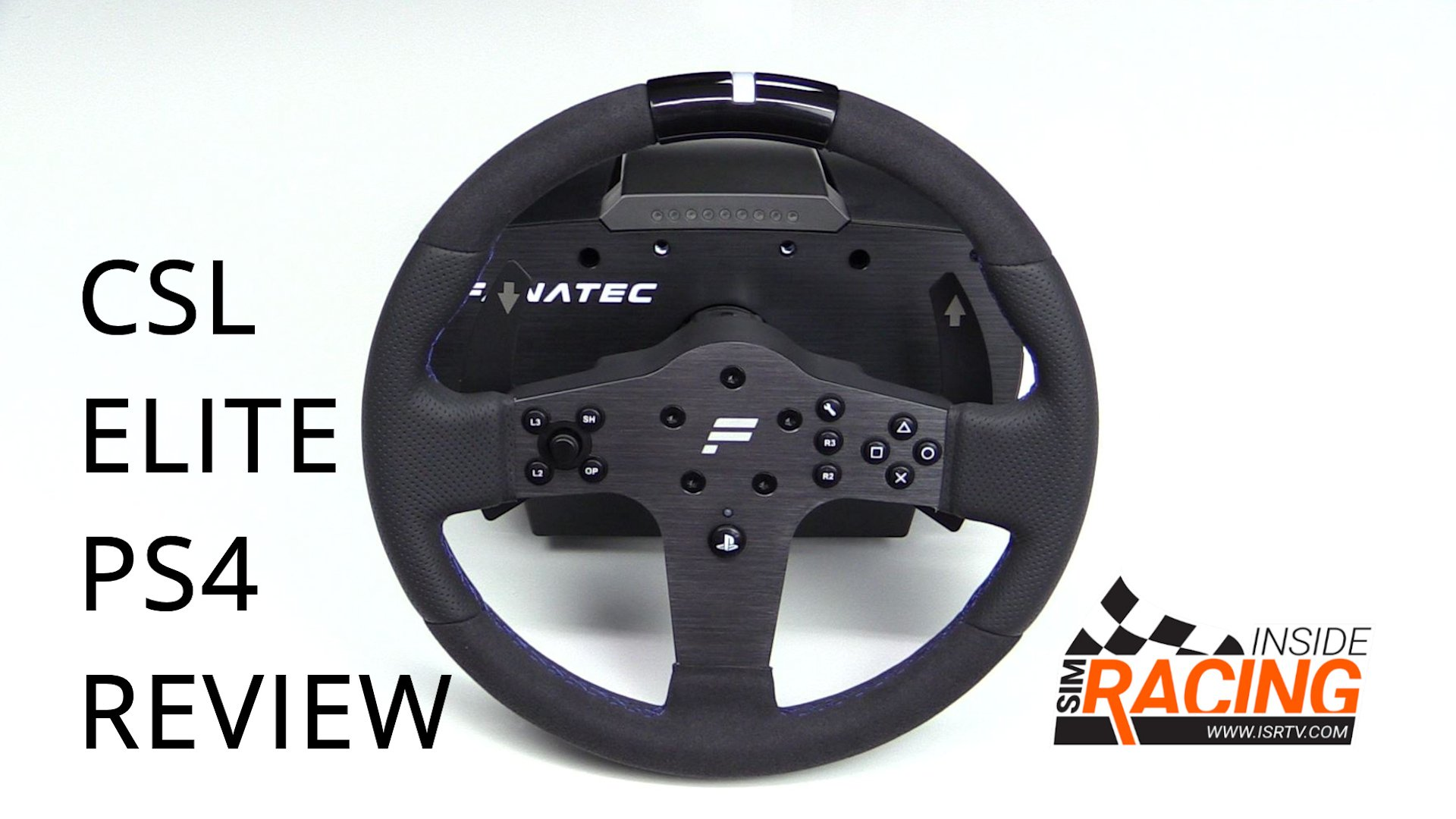 Fanatec CSL Elite Racing Wheel for the PlayStation 4 Review