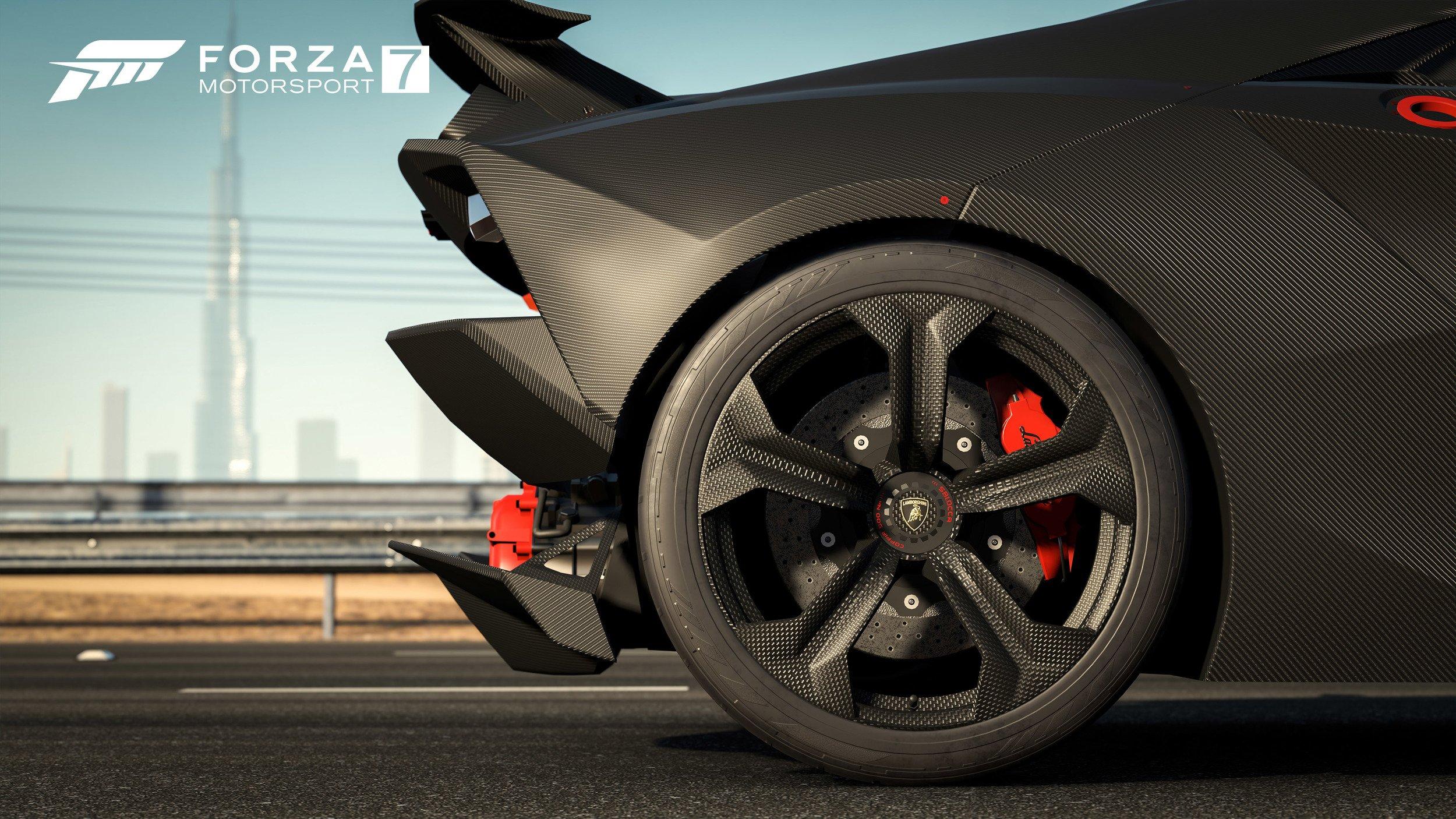 Forza Motorsport 7 Lamborghini Sesto Elemento rear