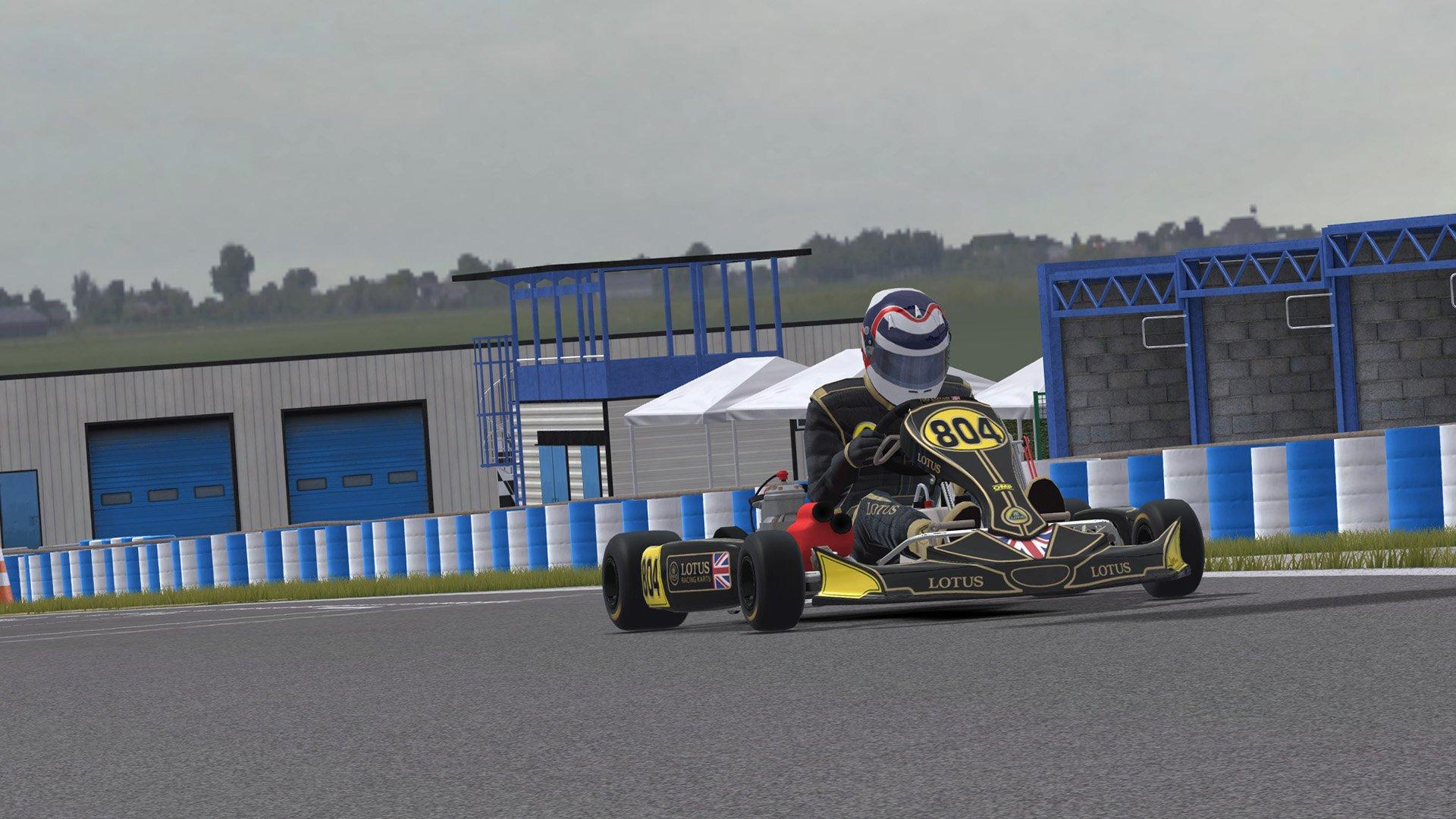 Kart Racing Pro Lotus kart